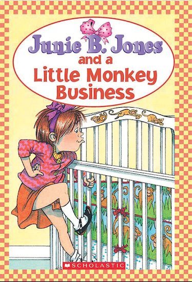 book report junie b jones and a little monkey business If the right book is put in a student's hands  the junie b jones project junie b jones and a little monkey business.