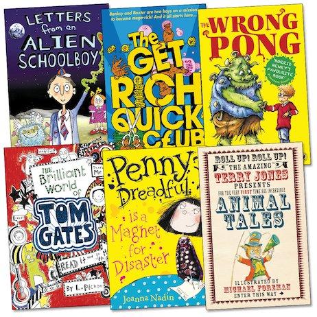 Roald Dahl Funny Prize Shortlist Pack