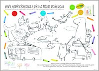 The Day the Crayons Quit - Colouring Activity