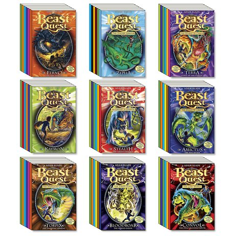 Beast quest mega pack series 1 9 the ultimate pack of the ultimate