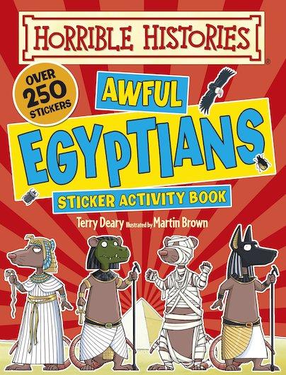 Horrible Histories Sticker Activity Book