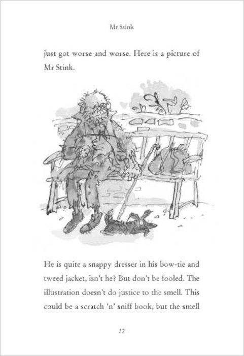 Pics photos demon dentist by david walliams book review - Mr Stink Scholastic Book Club