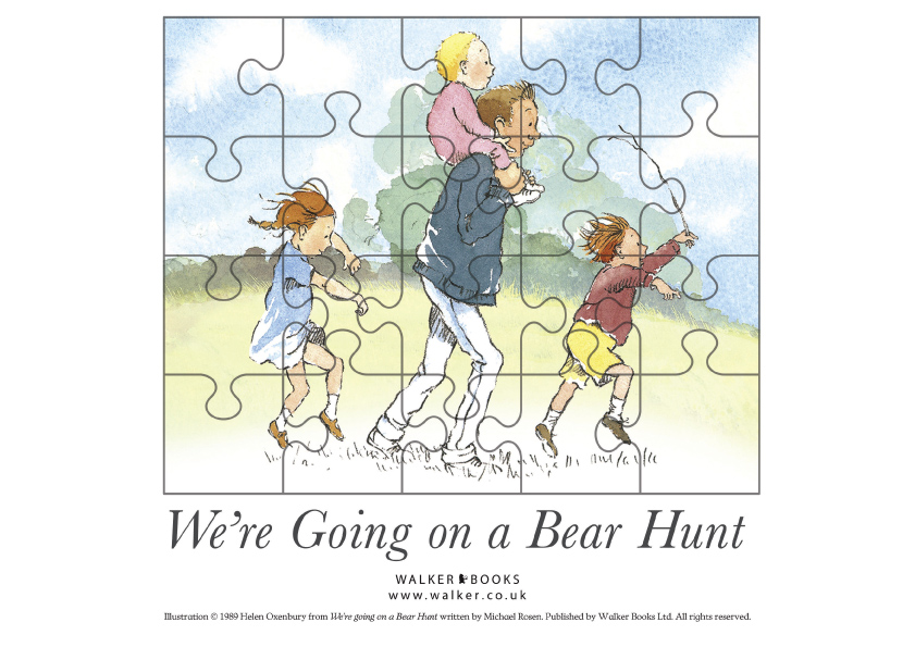 A Bear Hunt Bearhunt act puz 331632
