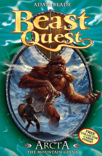 Beast quest series 1 547 arcta the mountain giant scholastic kids