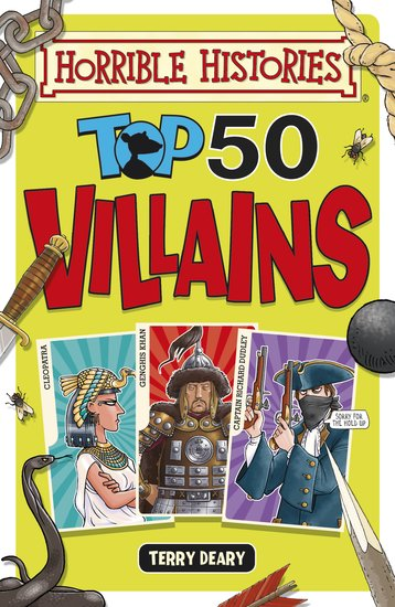 Top 50 Villains - Terry Deary