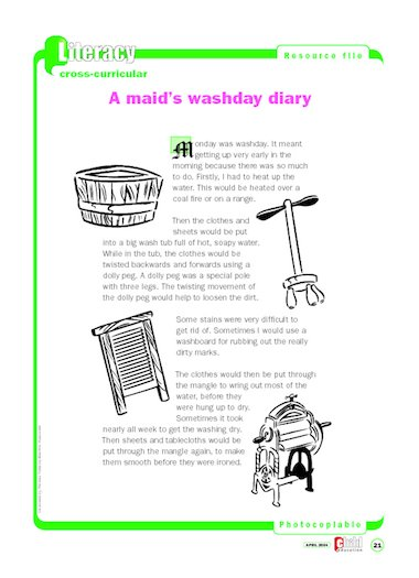 washday-woes-pcp1-473266 Victorian Clothes Worksheet Ks on