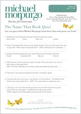 Michael Morpurgo Name That Book Quiz