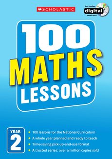 100 Maths Lessons: Year 2