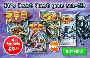 Sea Quest Pack: Series 3 - 4 for only £9.99