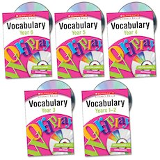 Scholastic Literacy Skills: Vocabulary Complete Pack