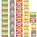 Super Stars Sticker Pack