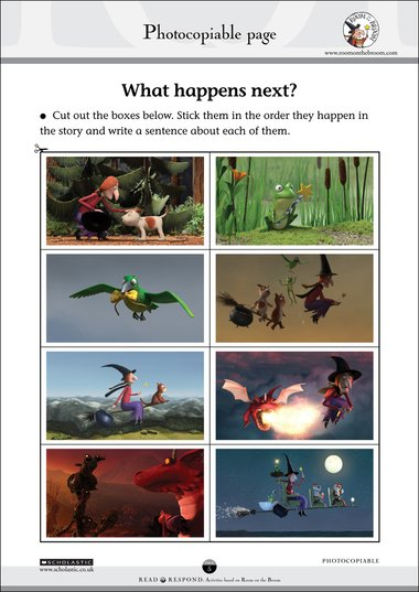 Room on the Broom – What happens next? – FREE Early Years teaching ...