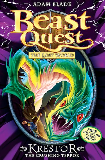 Beast Quest Series 7 #630: Krestor the Crushing Terror - Scholastic ...: clubs-kids.scholastic.co.uk/products/79166
