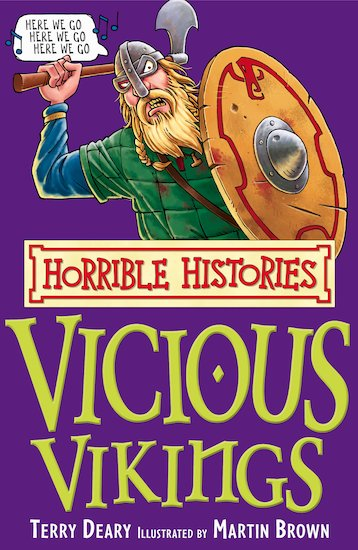 The Vicious Vikings - Terry Deary