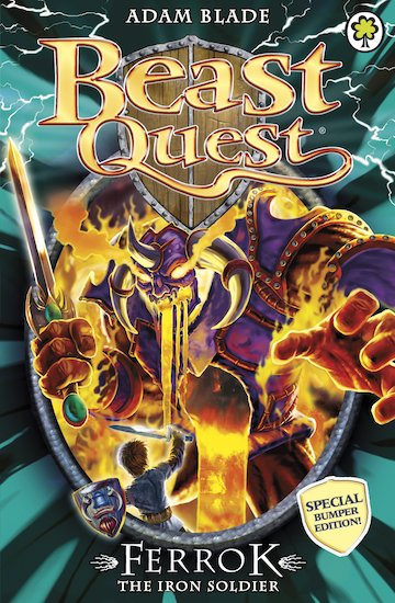 beast quest special 10 ferrok the iron soldier