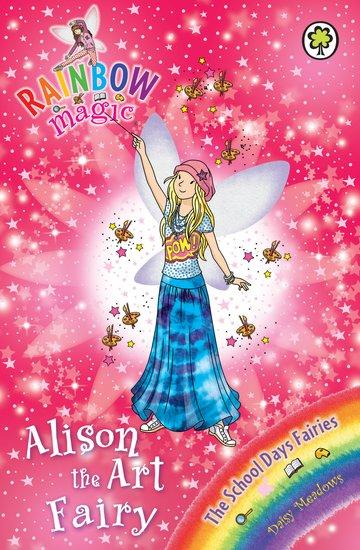 rainbow magic school days fairies 149 alison the art fairy scholastic kids 39 club. Black Bedroom Furniture Sets. Home Design Ideas