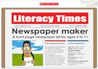 Newspaper maker – interactive resource (ages 9-11)