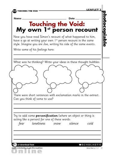 touching the void 2 essay