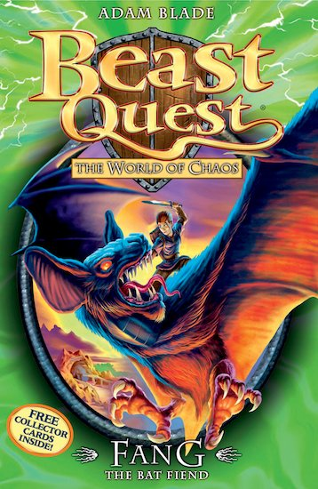 Beast quest series 6 33 fang the bat fiend scholastic kids club