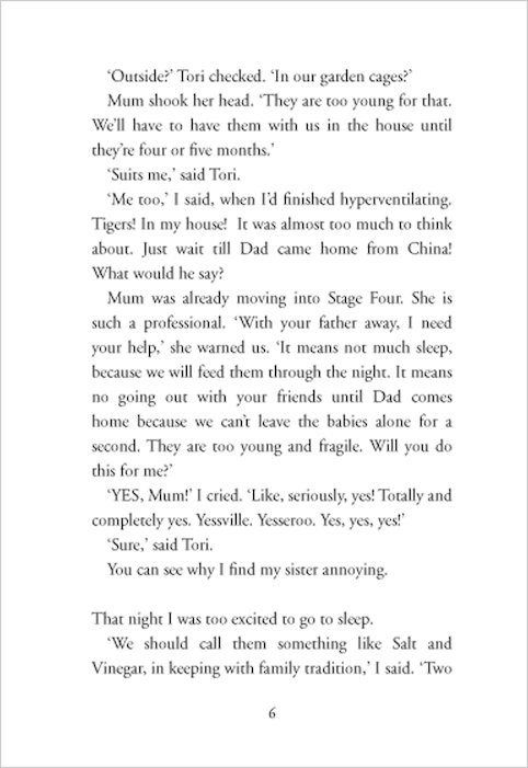 tiger trouble book review