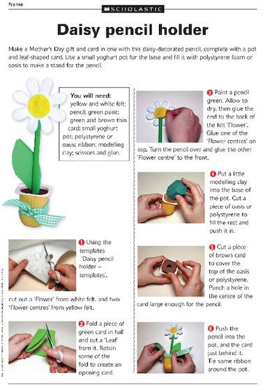 ... pot for Mother's Day – Primary KS2 teaching resource - Scholastic