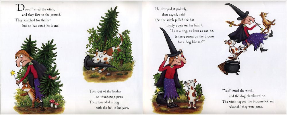 Room on the Broom Scholastic