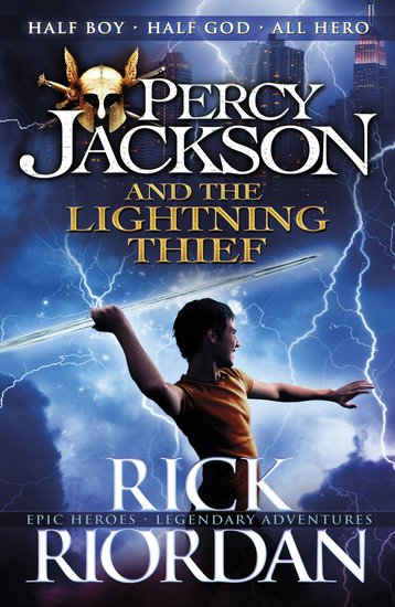 Percy Jackson And The Lightning Thief Scholastic Kids 39 Club