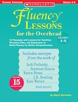 Fluency Lessons Overhead: Grades 4-6 Book and Transparencies