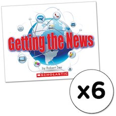 Guided Readers: Getting the News x 6