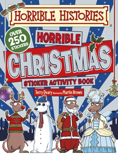 Horrible Histories Christmas Sticker Activity Book - Terry Deary
