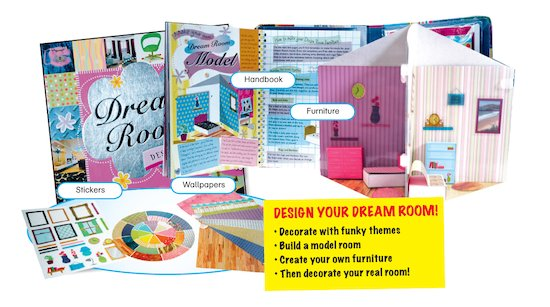 Dream room designer scholastic kids 39 club for Dream room maker