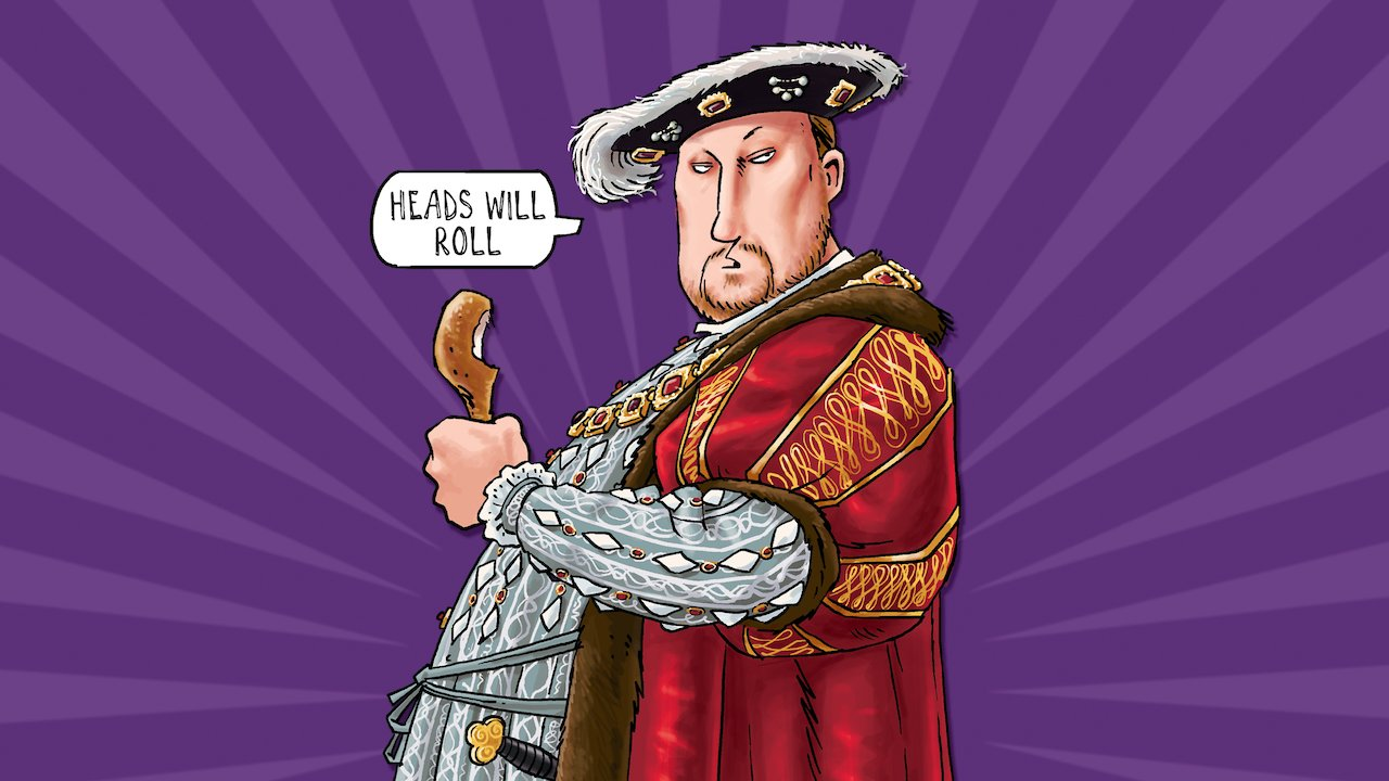 have you seen this image before henry viii turkey leg
