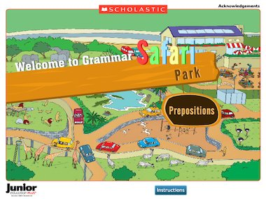 ... prepositions with this fun drag-and-drop game. See linked activities