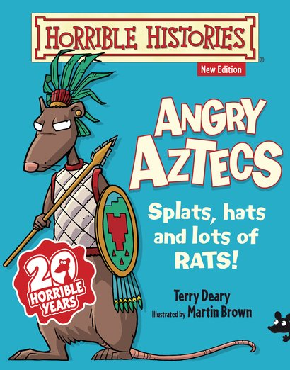 Angry Aztecs - Terry Deary