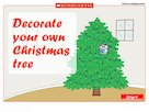 Decorate your Christmas tree – interactive game