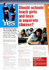 should boys and girls be separated in school essay