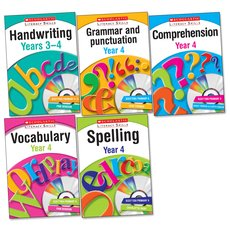 Scholastic Literacy Skills Complete Pack: Year 4