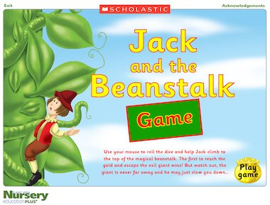 jack and the beanstalk online games eyfs