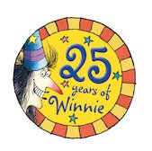 Winnie 25th Birthday Logo 