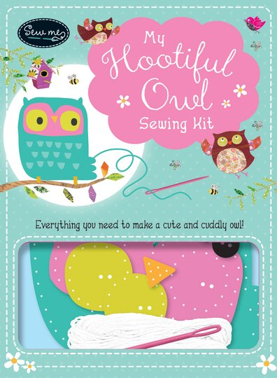 Book Cover Sewing Kits : My hootiful owl sewing kit scholastic shop