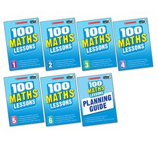 100 Maths Lessons for the 2014 Curriculum Set