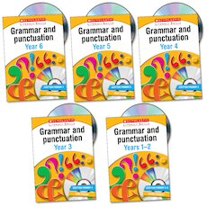 Scholastic Literacy Skills: Grammar and Punctuation Complete Pack
