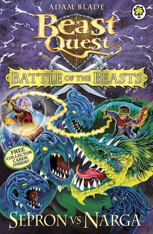 Beast quest special battle of the beasts sepron vs narga