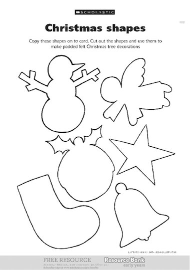 24 christmas shapes how to make laser cut christmas shapes to cut out ...
