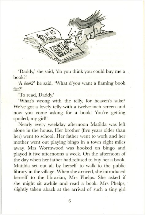 matilda roald dahl book report Free summary and analysis of the events in roald dahl's matilda that won't make you snore we promise.