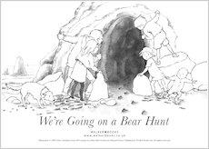 Bear Cave Coloring Page Iwate Kokyo