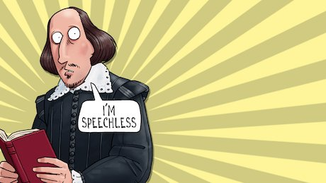 Horrible Histories eCard: Shakespeare