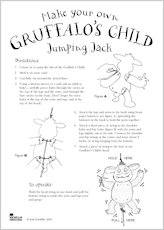 Gruffalo Jumping Jack Instructions
