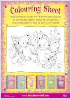 Fairy Bears Colouring