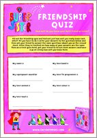 Friendship quiz pdf reader